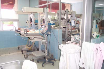 The NICU Unit in San Pedro Sula, Honduras